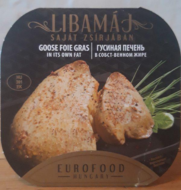 libamáj - 90% - saját zsírjában